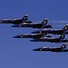 The Blue Angles by ©  Paul W. Faust