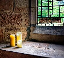 Candles in The Window by hebrideslight
