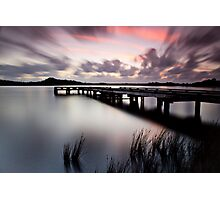 Sunset Strahan Style Photographic Print