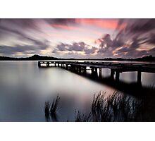 Sunset Strahan Style Photographic Print