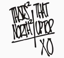 That's That North North (Black) by Faded Fabrics