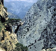 Samaria Gorge from Gingilos by Francis Drake