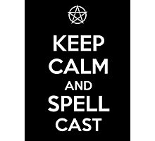 Keep Calm AND Spellcast Photographic Print