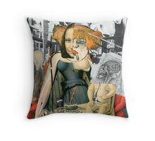 Maddonna with Christ Child (Only Fish Cry). Throw Pillow