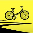 Vélo Jaune (Yellow Bicycle)  by Brandon  Dover