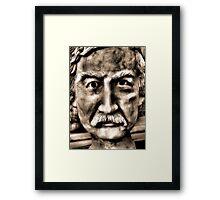 Mustachio Framed Print