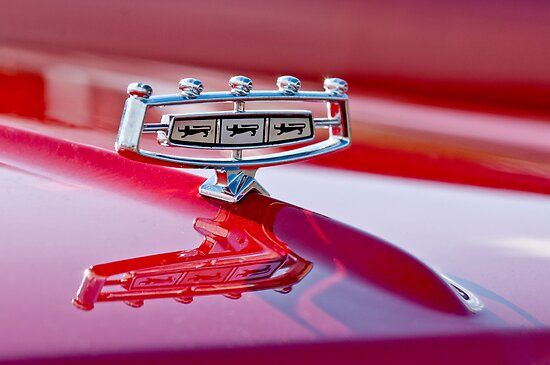 1966 Ford Galaxie 500 Convertible Hood Ornament by Jill Reger