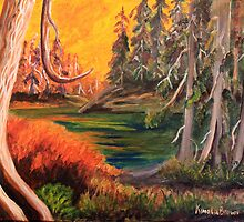 Cedar Sunset by Cal Kimola Brown