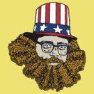 Allen Ginsberg by CultureCloth
