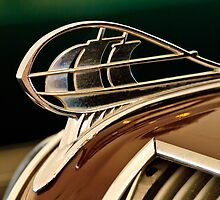 1936 Plymouth 4 Door Sedan Hood Ornament by Jill Reger