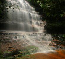 Junction Falls at Lawson by Michael Matthews