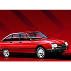 Citroen GSA Pallas Poster Illustration by Autographics