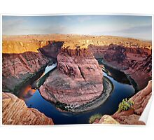 Horseshoe Bend at Sunrise Poster