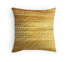 Woven gold? SOLVED by MISFITS herself! Throw Pillow