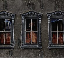 Three Windows by Michael Rubin