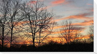 Kentucky Sunset by Ron Russell