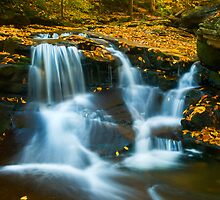 Pa mountain falls in Autumn - 90 by ©  Paul W. Faust