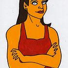 Michelle Bridges Biggest Loser Trainer Coloured by Donnahuntriss