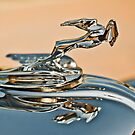 "1931 Chrysler CN Roadster ""Gazelle"" Hood Ornament by Jill Reger"