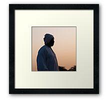 Al rais - The chief Framed Print