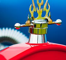 1923 Ford T-Bucket Hood Ornament 1 by Jill Reger