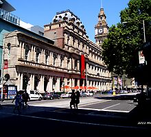 The General Post Office of Melbourne  by 1991xky