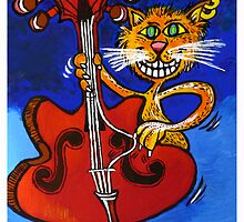 BASSY CAT by ROB51
