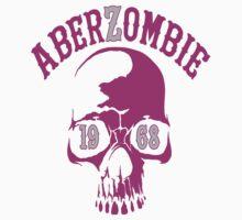 AberSkull 1968 Pink Sticker by Aberzombie & Stitch ™©®