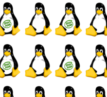 Lot's of Tux - The Peoples Choice Sticker