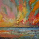 Hidden Heart Lava Sky by Michael Creese