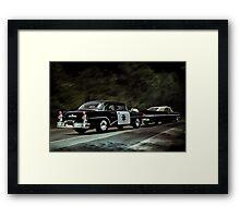 Highway Patrol Framed Print