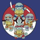 Ninja Squirtle by Justin Lewis