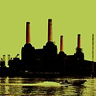 Battersea Power Station, London by Jasna