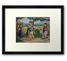 Gopa Kumar Framed Print