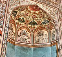 Inside Amer Fort, Jaipur by Sanjay  Kumar
