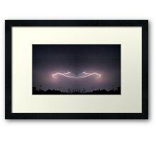 Lightning Art 33 Framed Print
