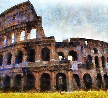 The Colosseum, Rome, Italy  by buttonpresser