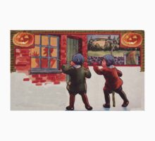 Young Killers  (Vintage Halloween Card) by Welte Arts & Trumpery