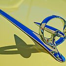 "1946 Buick ""Rocket in a Ring"" Hood Ornament by Jill Reger"