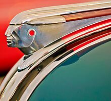 "1948 Pontiac ""Chief"" Hood Ornament by Jill Reger"