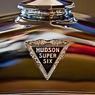 1929 Hudson Cabriolet Hood Ornament - Emblem 2 by Jill Reger