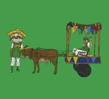 East Bound and Down Donkey Cart by CultureCloth