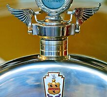 1928 Pierce-Arrow Boyce MotoMeter Hood Ornament by Jill Reger
