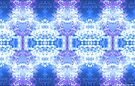 neon trinity (cold version) by Karl David Hill