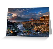 Elgol Burn and the Cuillin. Isle of Skye. Scotland. Greeting Card