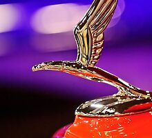 "1933 Chevrolet ""Eagle"" Hood Ornament by Jill Reger"