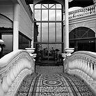 Victoria Palace Pool Entrance by Paul Barnett