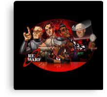 Red Dwarf Canvas Print