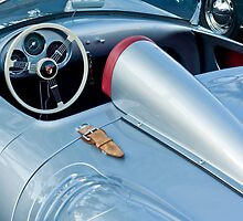 Porsche Spyder Steering Wheel by Jill Reger