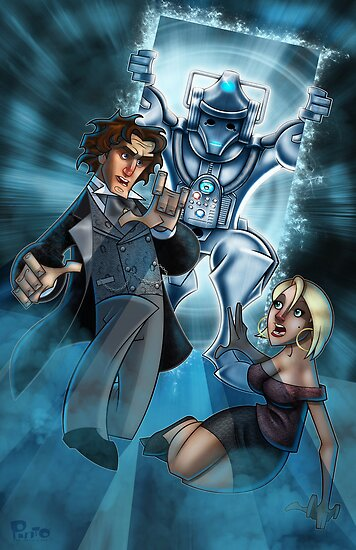 The Eighth Doctor & Lucie by Jon Pinto